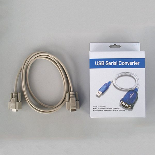 SCS-1 Serial Cable and USB Adapter.