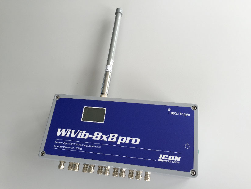 WiVib-8/8 pro data acquisition unit